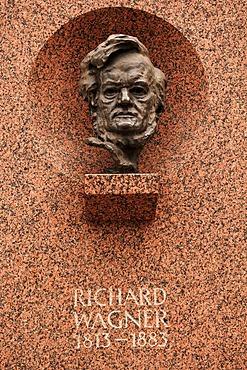 Richard Wagner Memorial, Nuremberg, Bavaria, Germany, Europe