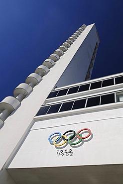 Olympic stadium, detail, Helsinki, Finland, Europe