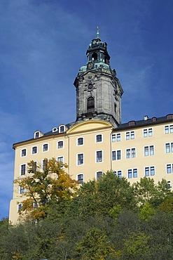 Heidecksburg Castle, Rudolstadt, Thuringia, Germany, Europe