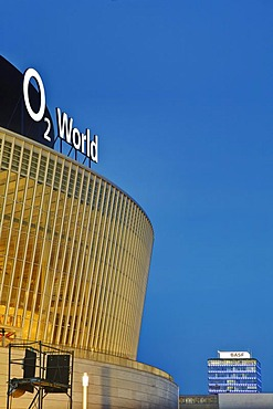 O2 World, multifunction hall, shortly before opening, Berlin, Germany, Europe