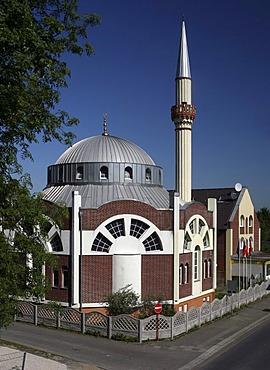 Fatih Mosque, Essen, North Rhine-Westphalia, Germany, Europe