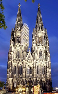 Cologne Cathedral, Cologne, North Rhine-Westphalia, Germany, Europe