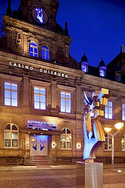 Casino Duisburg, Ruhr district, North Rhine-Westphalia, Germany, Europe