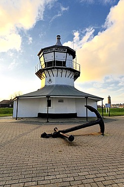 The Low lighthouse at Harwich, on the Essex coast, England, Great Britain, Europe