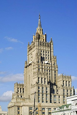 Russian Foreign Ministry building, Moscow, Russia