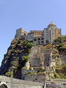 Castello Aragonese Ischia Ponte Ischia Bay of Naples Italy