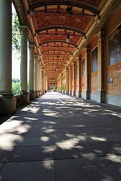 Pump room portico, Baden-Baden, Schwarzwald, Baden Wuerttemberg, Deutschland, Europa