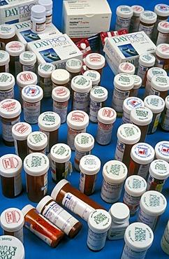 Prescription drugs, Detroit, Michigan, USA