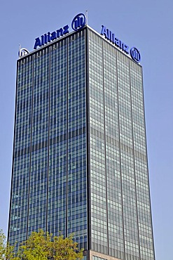 Allianz Tower, Treptow district, Berlin, Germany, Europe