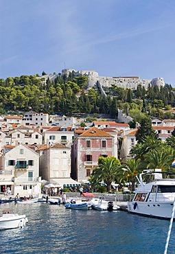 Fortress, Hvar, Dalmatia, Croatia, Europe