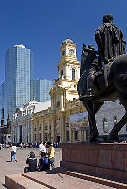 Plaza de Armas, Santiago de Chile, Chile, South America