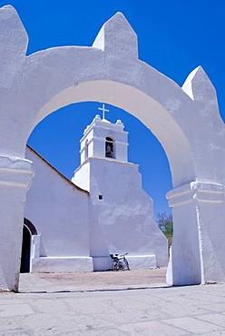 Iglesia de San Pedro church, San Pedro de Atacama, Chile, South America