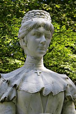 Statue of the empress Elisabeth in Meran