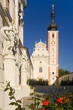 Convent Geras in Geras, Waldviertel Region, Lower Austria, Austria