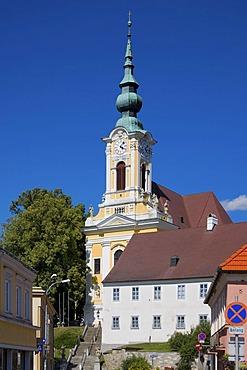 Square of Heidenreichstein, Waldviertel Region, Lower Austria, Austria