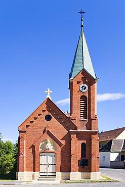 Chapel in Weinern, Waldviertel Region, Lower Austria, Austria