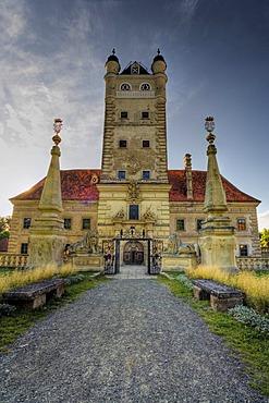 Greillenstein Palace, Waldviertel Region, Lower Austria, Austria