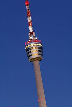 Television tower, Stuttgart, Wuerttemberg, Germany