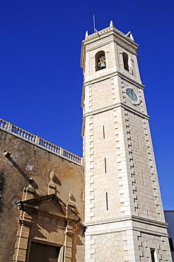 Santa Catalina Church, Teulada, Alicante, Costa Blanca, Spain