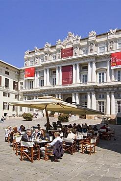Genoa Genova Liguria Italy Piazza Metteotti Palazzo Ducale