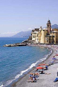 Camogli near Portofino Riviera di Levante Liguia Italy