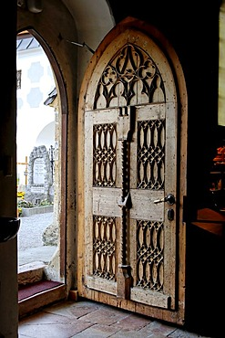 Altenmarkt in the Pongau Salzburger country Austria entrance in the church