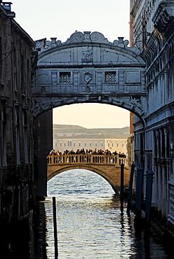 Ponte dei Spospiri bridge of sighs Venice Venezia Italy