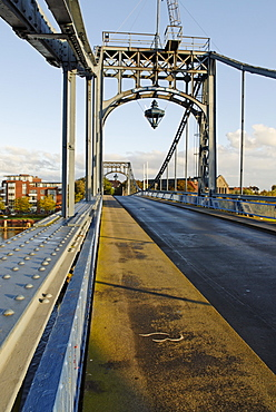 Kaiser Wilhelm Bruecke )Emperor Wilhelm Bridge) Wilhelmshaven at the Jadebusen North sea coast Lower Saxony Germany