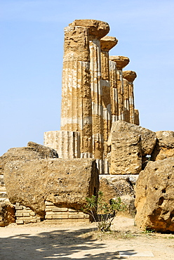 Temple of Hercules Agrigento Sicily Italy