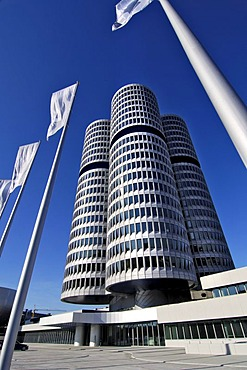 BMW headquarters, Munich, Bavaria, Germany