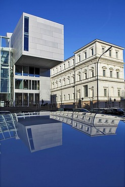 Academy of Fine Arts, new building by Coop Himmelb(l)au, Munich, Bavaria, Germany
