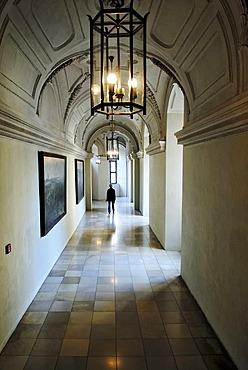 Hallway, Residenz, Munich, Bavaria, Germany