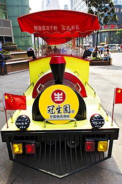 Sighseein train, Nanjing Donglu, Shanghai, China