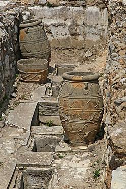 Excavations Knossos, Heraklion, Crete, Greece