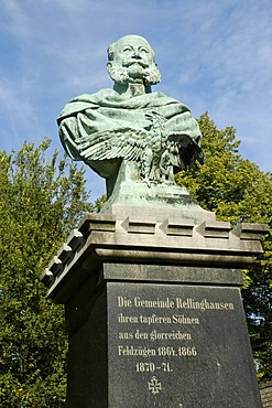Emperor Wilhelm Memorial, Rellinghausen, Essen, Ruhrgebiet, North Rhine-Westphalia, Germany