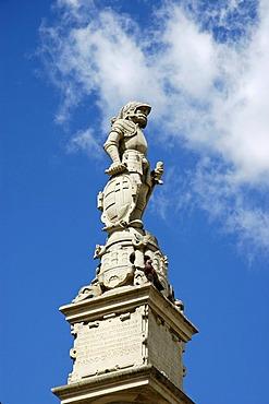 Roland statue, Main square, Hlavne namestie, Bratislava, Slovakia