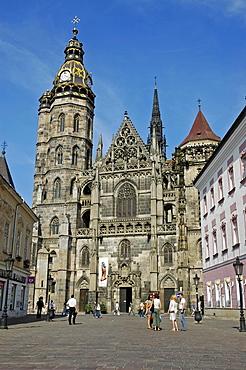 St. Elisabeth Cathedral, Kosice, Slovakia, Slovak Republic