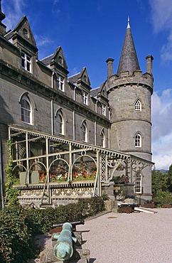 Inverary castle Scotland