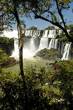Waterfalls, Iguacu, Argentina, South America