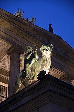 Concerthall on the Gendarmenmarkt, Mitte, Berlin, Germany, Europe