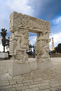 Jaffa Arch, Tel Aviv, Israel, Middle East