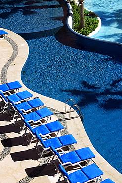 Pool in Los Cabos, Baja California Sur, Mexico, America