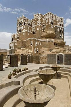 Immam Palace, Wadi Dhar, Yemen, Middle East