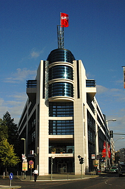 SPD headquarters, Willy Brandt House, Berlin Germany, Europe