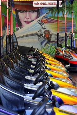 Dodgems, Hamburg Dom, large fair in Hamburg, Hanseatic City of Hamburg, Germany, Europe