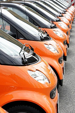 Smart promotion cars of the ProChrist initiative