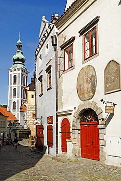 Historic centre of Cesky Kralove, Krumau, Unesco World Heritage Site, South Bohemia, Czech Republic, Czechia, Europe