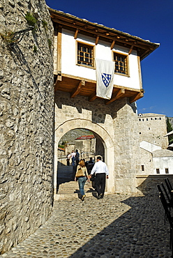 Historic centre of Mostar, UNESCO World Heritage Site, Bosnia and Herzegovina, Balkans, Balkan, Europe