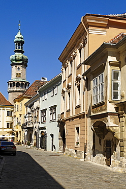 Historic centre of Sopron, Hungary, Europe
