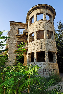 Building destroyed during the civil war, Mostar, Bosnia and Herzegovina, Balkans, Europe